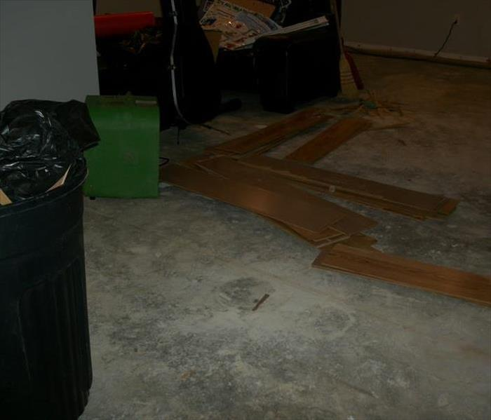 Water Damaged Basement