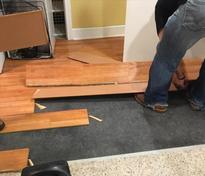 Floor Removal in Arlington Heights Home