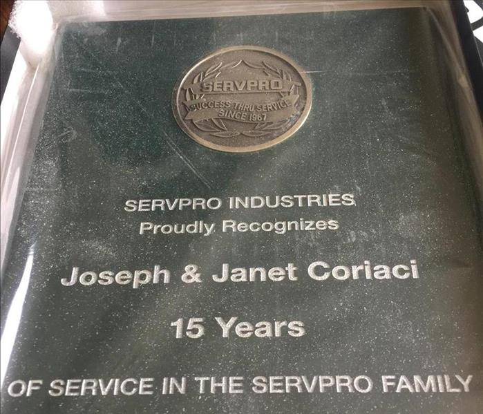 General 15 Year Anniversary for SERVPRO of Arlington Heights/Prospect Heights
